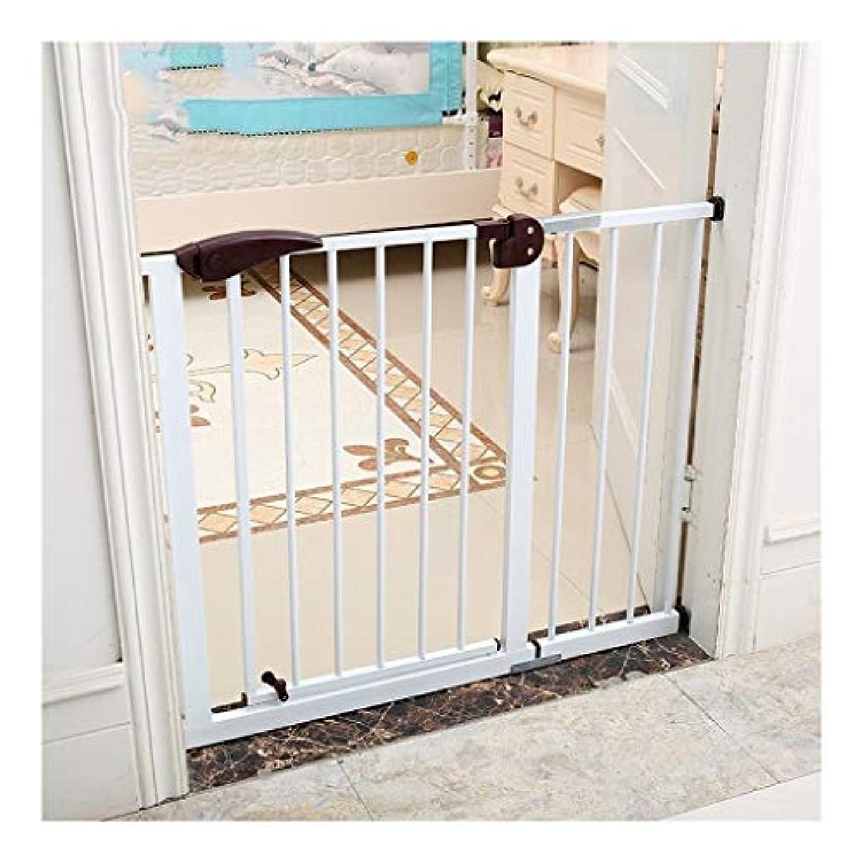 復讐品慣れるベビーゲート 階段の安全門オートクローズ安全ベビーゲート、ドアとエクストラトール耐久性のある犬門、簡単ウォークスルー子供ゲートハウス、階段、玄関向け&廊下用 (Size : Width 129-131cm-A)