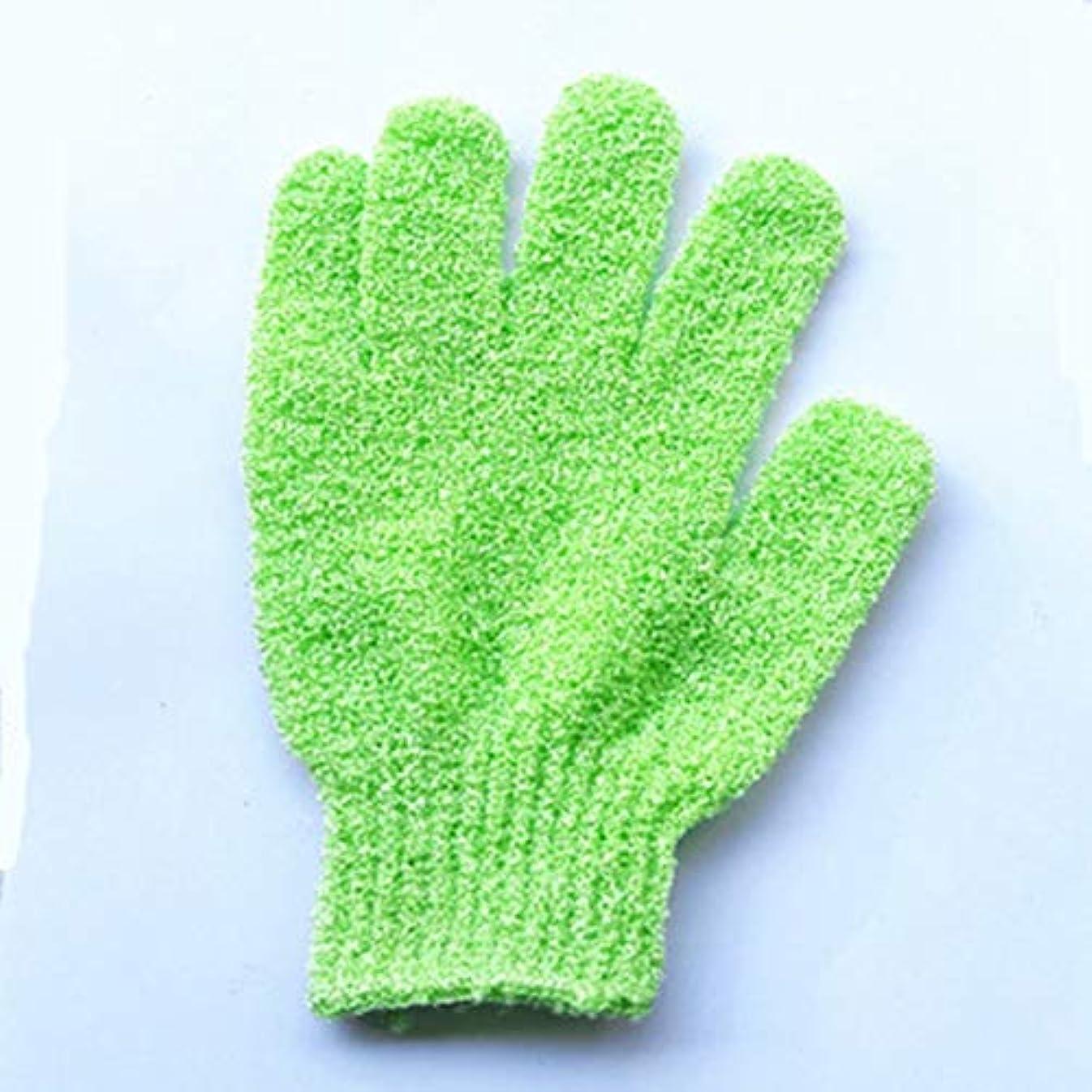 乳剤ゼリーみがきます子供用バスタオルの色ソフトバブルバスタオルバス製品耐久性のある実用的で快適なバスバッククリーン-グリーン