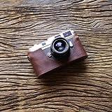 cam-in (カムイン) カメラケース ライカ Leica M6 , M7 , MP , M2 , M3 , M4用 イタリアンレザー (CA034シリーズ, ブラウン)