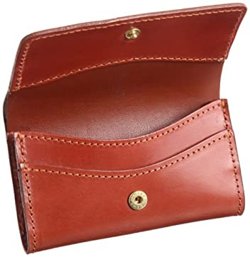 03-6131 Slim Business Card Holder: Oxford Tan