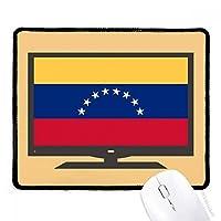 ベネズエラの国旗の南のアメリカ  国シンボルマークパターン マウスパッド・ノンスリップゴムパッドのゲーム事務所