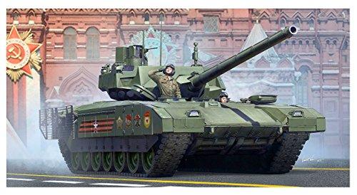 トランペッター 1/35 ロシア連邦軍 T-14主力戦車 プラモデル 09528