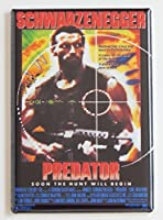 Predator Movie Poster Fridge Magnet by Blue Crab Magnets