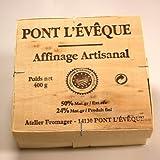 フランス産 ウォッシュチーズ  ポン レベック 400gポン・レベックは とても香りが強いです。