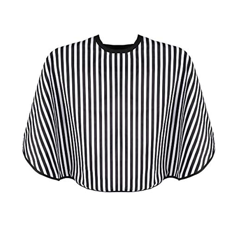OUNONA シャンプーケープ 毛染めケープ 散髪ケープ 散髪マント ヘアーエプロン ヘアカラー用 ナイロン製