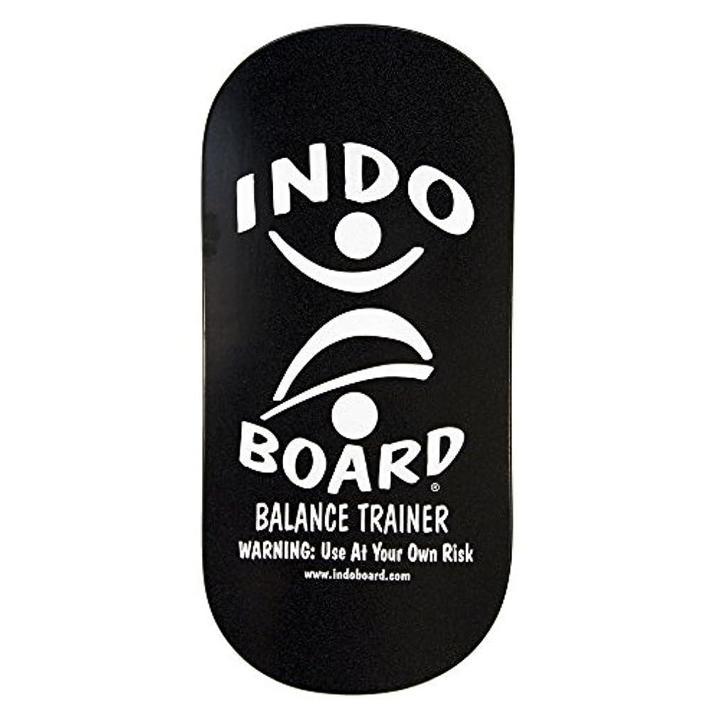 おばあさん基準フェンスINDO BOARD(インドボード) バランスボード INDO ROCKER ボード単品 ブラック