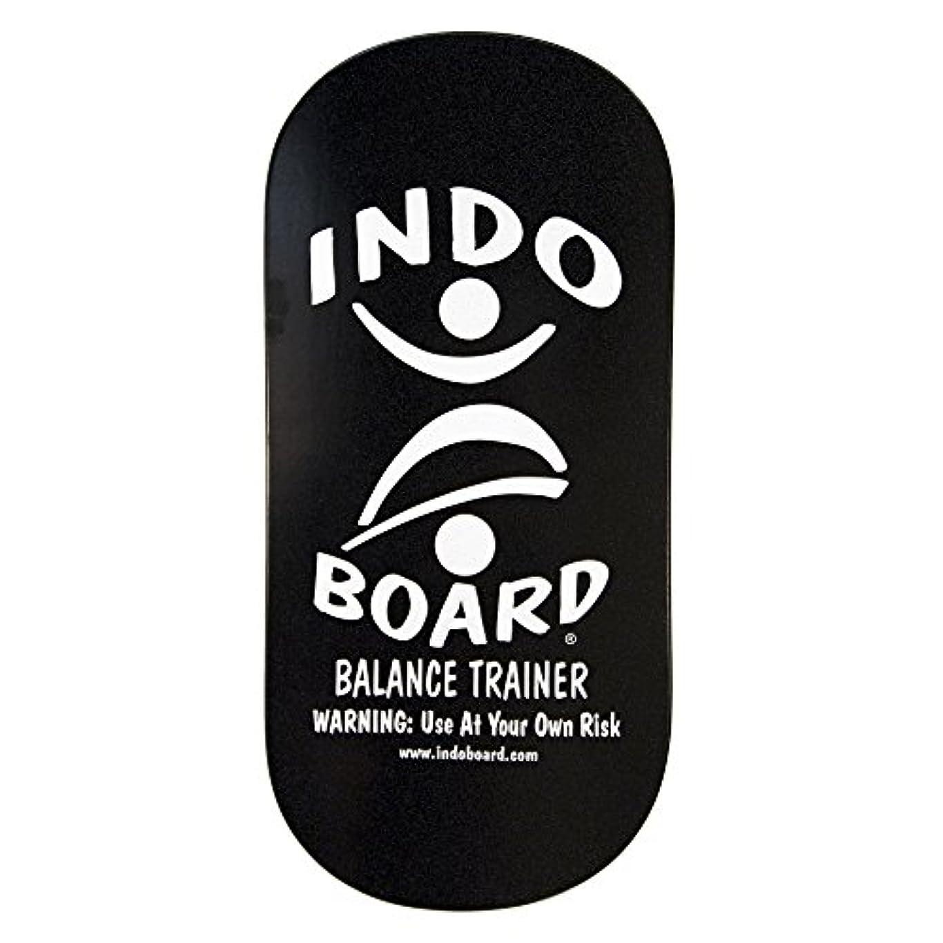 スケジュールアカデミック拘束INDO BOARD(インドボード) バランスボード INDO ROCKER ボード単品 ブラック