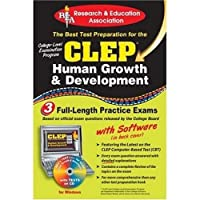 CLEP Human Growth & Development w/ CD (REA) - The Best Test Prep for the CLEP (Test Preps)