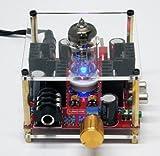 真空管+MosFET ヘッドフォンアンプ+電源アダプター