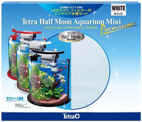 RoomClip商品情報 - テトラ (Tetra) ハーフムーンアクアリウム ミニプレミアムホワイト HMP-10W
