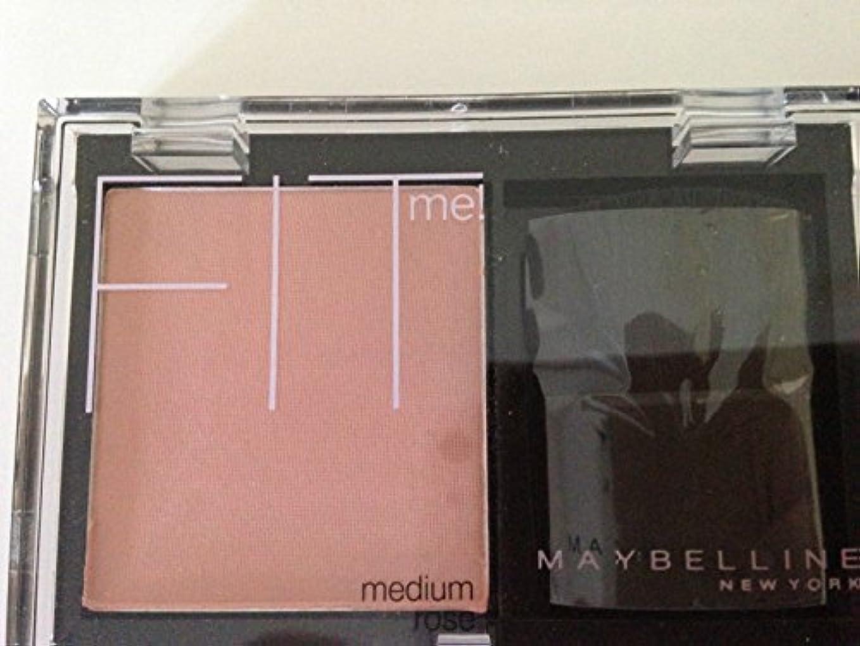 縞模様の移植ステーキMaybelline Fit Me! Blush Medium Rose by Maybelline