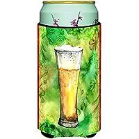 Caroline 's Treasures Irish Beer Tall Tall Boy Beverage Insulator Hugger ,マルチカラー