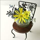 置物 小さい椅子 インテリアオブジェ 観葉植物 飾り アイアンミニチェアー B [kan0644]