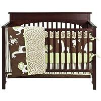 Tiddliwinks Madagascar 3 Piece Baby Crib Bedding Set by Tiddliwinks