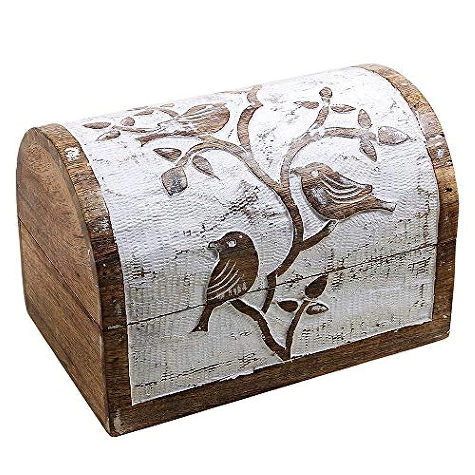 バッジ杭小間インドの職人 SS-Birdbox