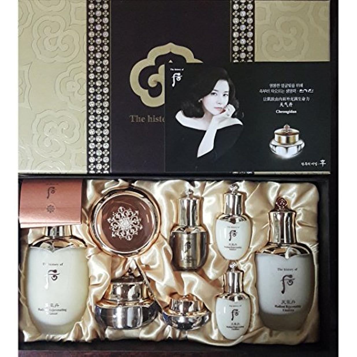 ホールド恐ろしいです富豪[The History Of Whoo] Whoo后(フー)Cheongidan Special4EA SetゴンジンヒャンSpecial Set/チョンギダン化現象4種スペシャルセット+ Sample Gift【海外直送品]