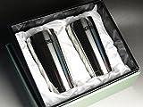 名入れ ペアステンレスグラス(サーモスTHERMOS 真空断熱2個セット)400mlギフトセット プレゼント