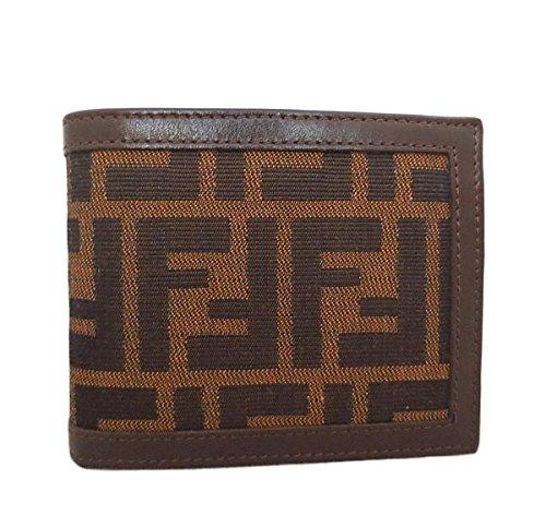 FENDI(フェンディ) ズッカ柄 2つ折り財布