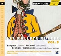 Les Ballets Russes, Vol. 9 by Deutsche Radio Philharmonie (2013-02-26)