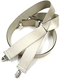 J Bridge Western 日本縫製 35mm X型 サスペンダー ゲバルト GEVAERT 籠目 和柄 ブレイシーズ ズボン吊り 吊りバンド 4117-6010