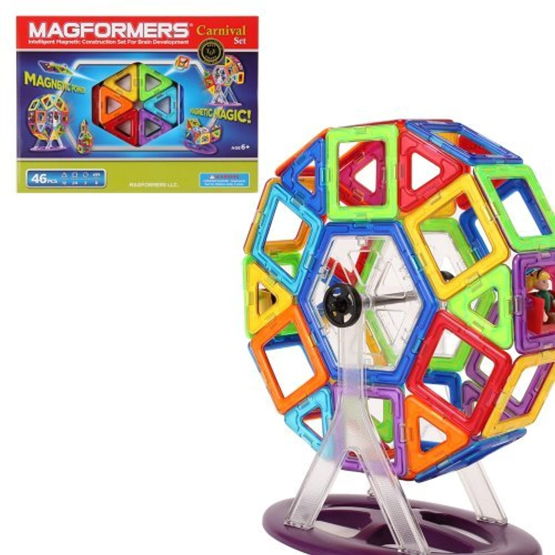 Magformers [ マグフォーマー ] 46ピース Special Set スペシャルセット Carnival Set カーニバルセット おもちゃ 玩具 知育玩具 キッズ 63074並行輸入品 [並行輸入品]