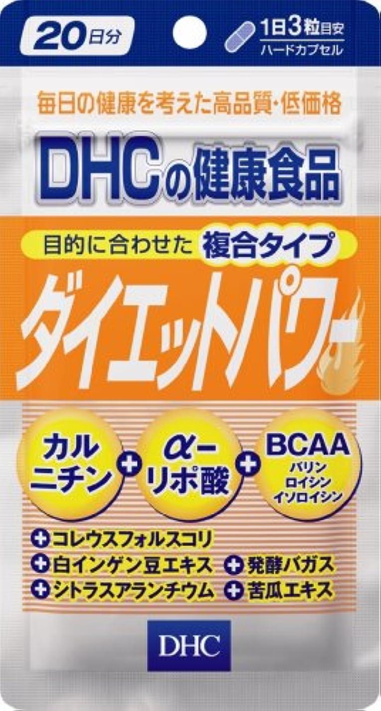 憲法針奇跡的なDHC ダイエットパワー 20日分 60粒