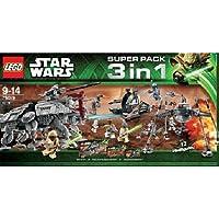 LEGO (レゴ) Star Wars (スターウォーズ) Super Pack 3 in 1 Combo (66473) ブロック おもちゃ (並行輸入)