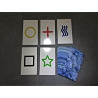2PK E04C Low Cost Zener Style UNMARKED ESP Testing Cards - not marked - not a magic trick [並行輸入品]