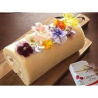 母の日 フラワー ロールケーキ スイーツ ギフト 水引 プレゼント パッケージ (母の日ラッピング)