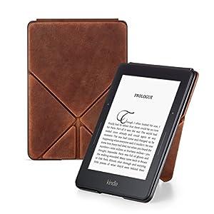 【リミテッドエディション】Amazon Kindle Voyage用ORIGAMI プレミアムレザーカバー