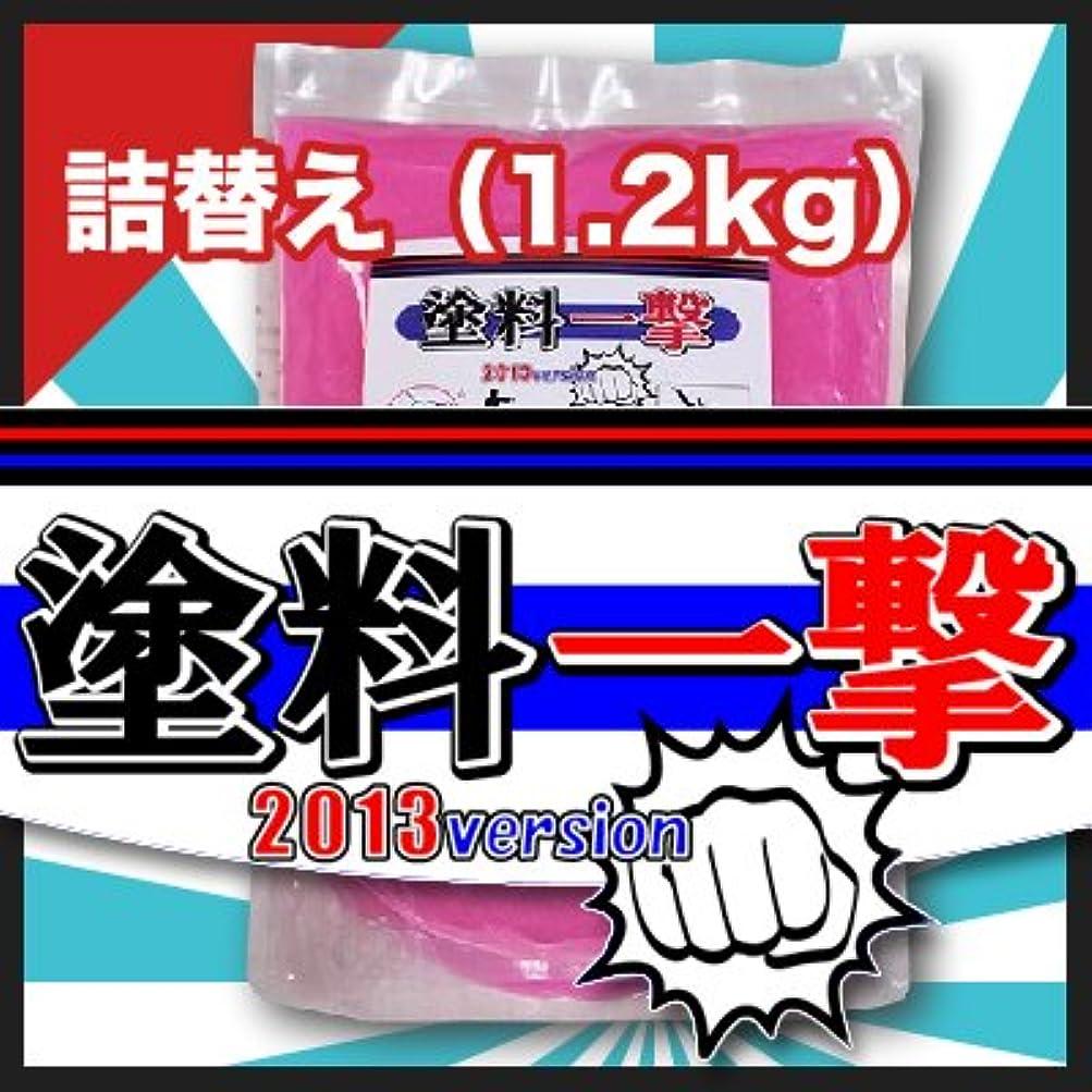 エキスパート要求するソロD.Iプランニング 塗料一撃 2013 Version 詰め替え (1.2kg)