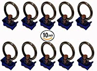 Single Stud Fitting with Stainless Steel Ring for L Track / Airline Track-10Packs