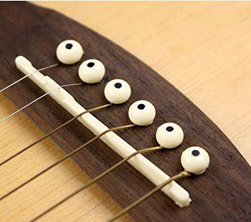 ETGtek(TM) 6本 アコースティックギター ブリッジピン
