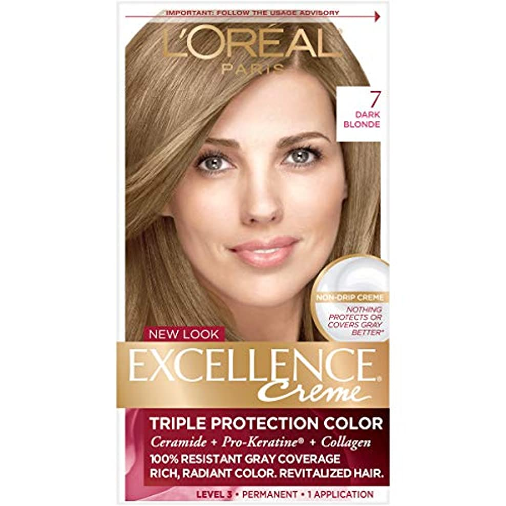 少年一般化する順番L'Oreal Excellence Creme Haircolor Dark Blonde (並行輸入品)