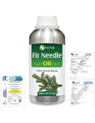Fir Needle (Abies balsamea) 100% Natural Pure Essential Oil 2000ml/67 fl.oz.