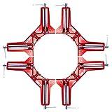 Crafts Art(クラフツアート) コーナークランプ クランプ l字クランプ 直角固定 90度 【4個セットでお得】