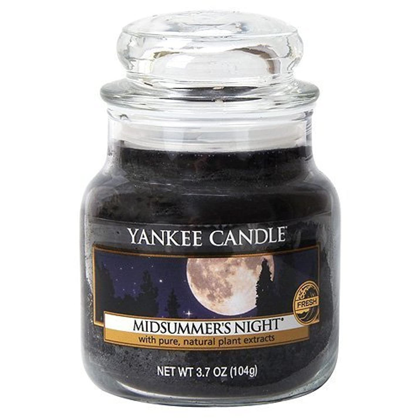 故障中バブルアイロニーYankee Candle Midsummer's Night Small Jar Candle, Fresh Scent by Yankee Candle [並行輸入品]