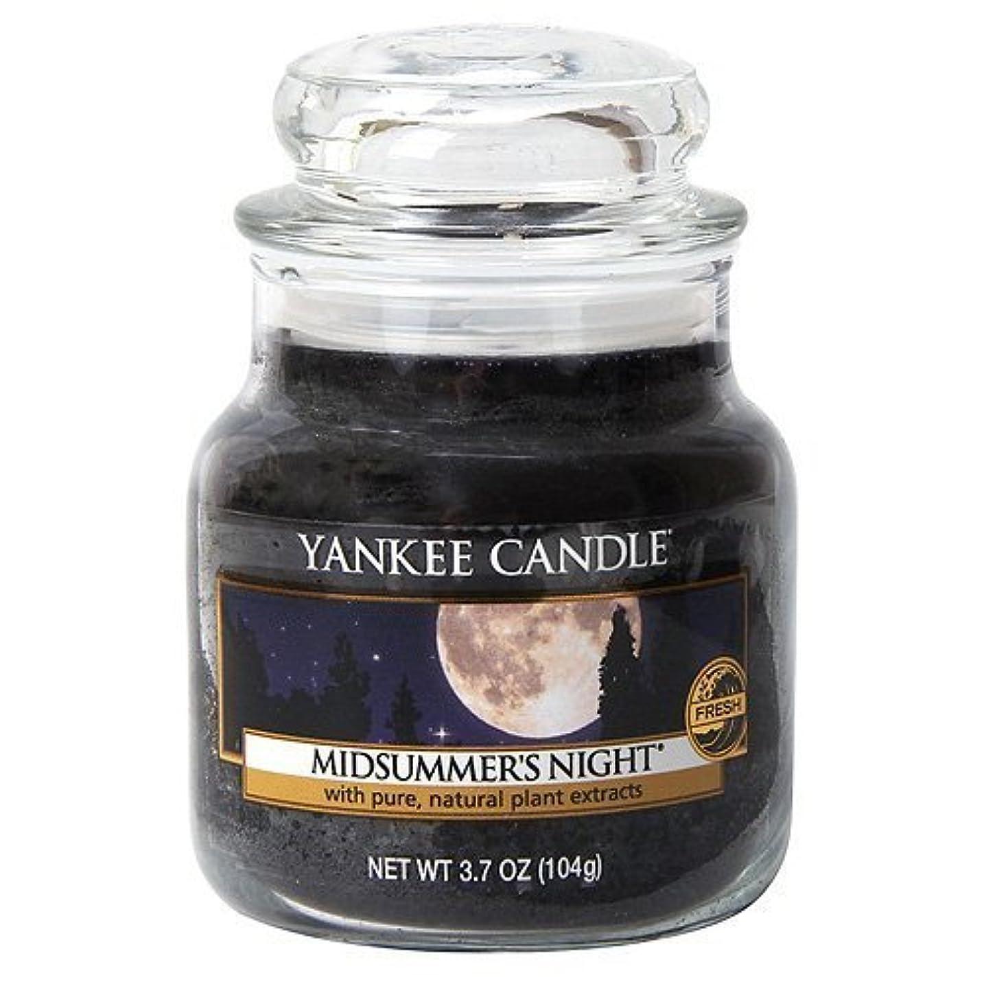 道気候の山寛大なYankee Candle Midsummer's Night Small Jar Candle, Fresh Scent by Yankee Candle [並行輸入品]