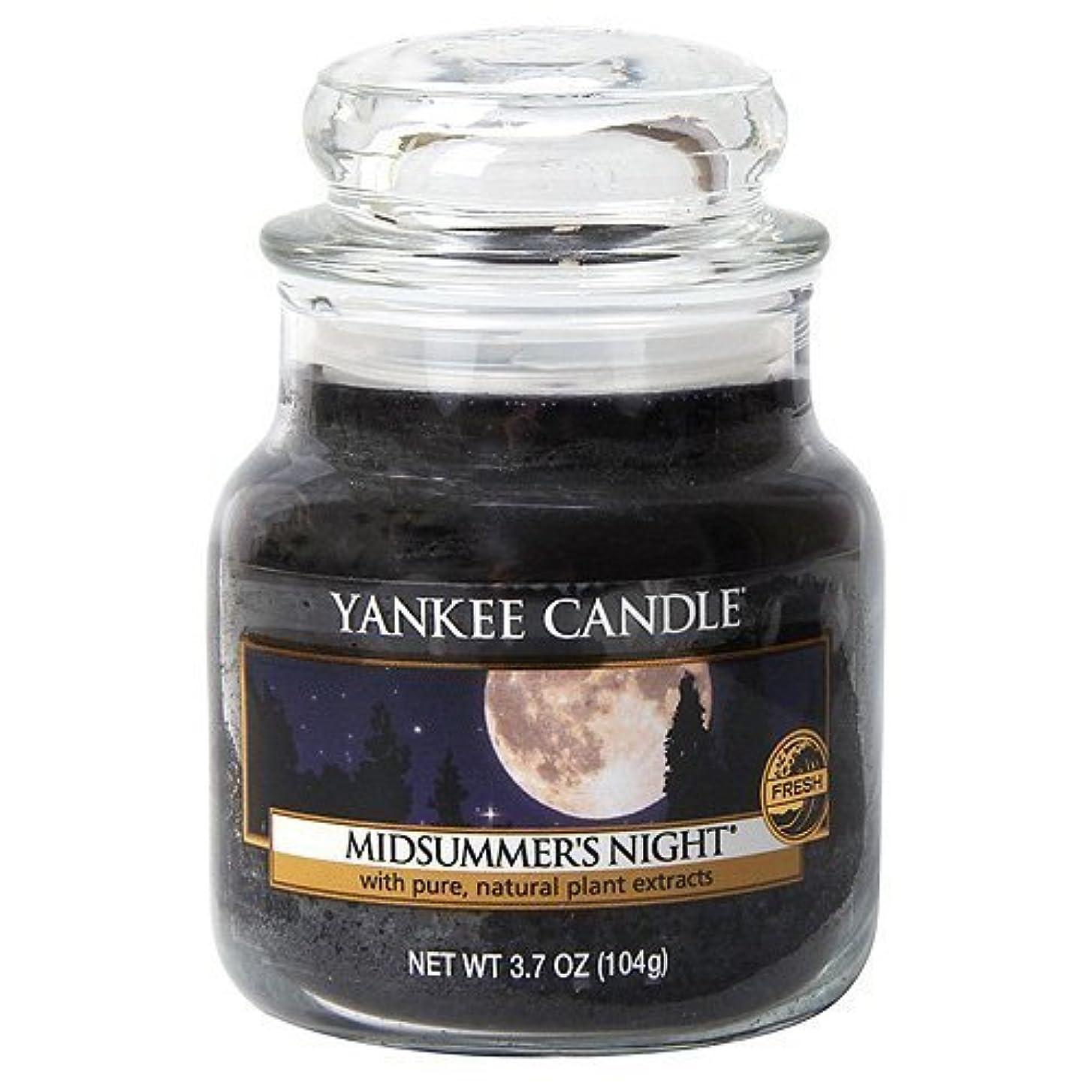 ペダル無効にする非常にYankee Candle Midsummer's Night Small Jar Candle, Fresh Scent by Yankee Candle [並行輸入品]