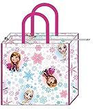 丸眞 レジャーバッグ ディズニー アナと雪の女王 H45×W50×D18cm シャイニングスノー 2065023100