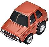 トミーテック チョロQ zero Z-34b VWゴルフI (茶色) 完成品
