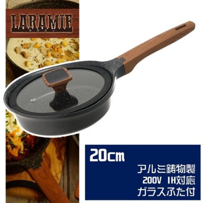 アルミ鋳物製にフッ素コートを施したフライパン ワンダーシェフ LARAMIE ララミー フライパン 20cm 630186