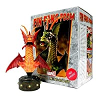 Fin Fang Foom (Iron Man) Red Variant Wizard World Chicago Exclusive Mini Bust by Bowen Designs!