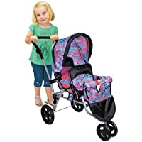 Lissi Twin Jogger Stroller - Purple by Lissi [並行輸入品]