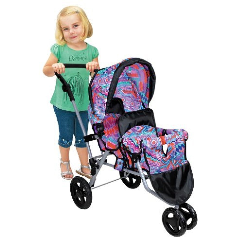 Lissi Twin Jogger Stroller - Purple by Lissi [並行輸入品]