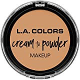 L.A. COLORS Cream To Powder Foundation - Honey Beige (並行輸入品)