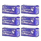ナチュラムーン生理用ナプキン多い日の夜用 羽つき 10個入×6袋セット