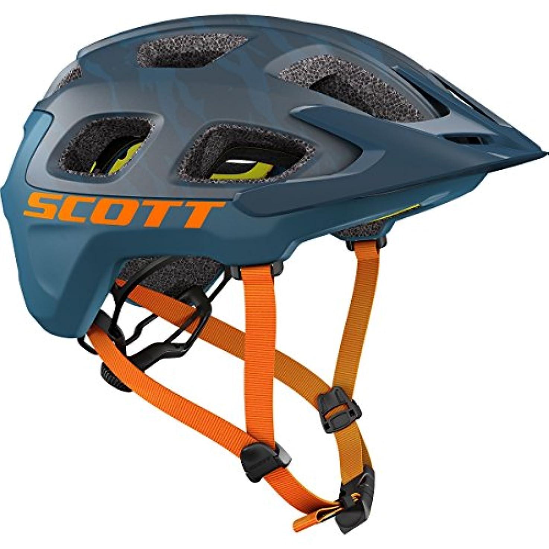 高音選ぶ渇きScott Vivo Plusヘルメットブルー/オレンジ、M