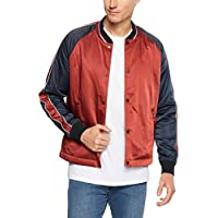 Ben Sherman Men's Snap Front Luxe Bomber Jacket