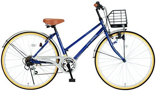 My Pallas(マイパラス) シティサイクル26インチ6段ギア ブルー M-501-BL